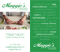 Maggie's Meals Business Card