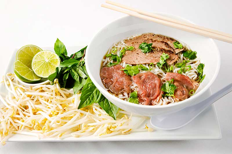 pho vietnamese beef noodle soup a classic traditional vietnamese beef ...