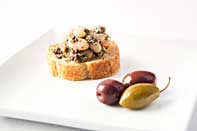 White Bean and Olive Tapenade Crostini